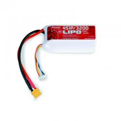 Power Pack LiPo 4/3200 14,8 V Graupner 78130.4