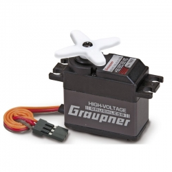 Servo brushless HBS880 BB MG 20 mm Graupner 7992