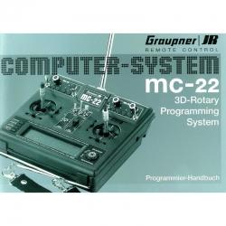 Handbuch MC-22, deutsch Graupner 8000 MC-22.1