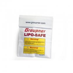 LiPo-SAFE Sicherheitstasche ws 18 x 22cm Graupner 8373