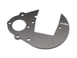 HD Getriebeplatte (7075S/Gunmetal/Baja) HPI 87291