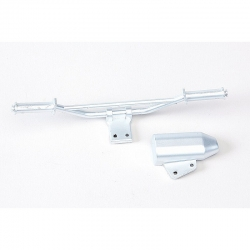 Lenker und Schalldämpfer Chrome Design Graupner 90190.139