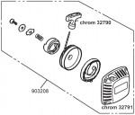 Starter-A, 23/27ccm Carson 903208