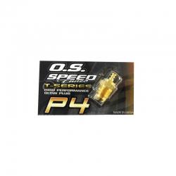 Glühkerze O.S. SpeedP4 GOLD Graupner 92646