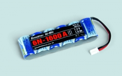 NiMH Intellect 6N-1600 2/3A Mini Stecker Graupner 98870.6