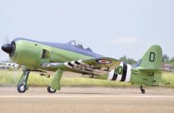 Black Horse Sea Fury 20cc ARTF BlackHorse A-BH113A