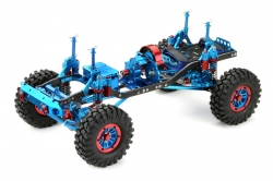 1:10 EP Crawler CR-01 metallic blue 4WD Rolling Chassis Absima 12001