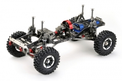 1:10 EP Crawler CR-01 gun metal 4WD Rolling Chassis Absima 12002