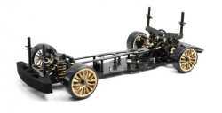1:10 EP Drift Onroad DRR-01 black 2WD Rolling Chassis Absima 12102