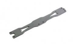 Aluminium Chassisplatte oben 1:10 Hot Shot Buggy/Truggy Absima 1230019