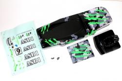 Karosserie camouflage/grün Hot Shot Sand Buggy Absima 1230111