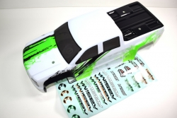 Karosserie grün/weiß Monster Truck AMT2.4 RTR Absima 1230353