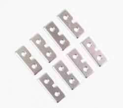 Aluminium Servo Distanzscheiben Absima 2030060