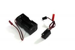 Batteriebox mit Schalter f. M Absima 2300002