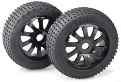 Räderset Buggy Razor 10 Speichen/ Dirt schwarz 1:8 (2 St.) Absima 2520015