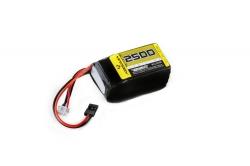 RX Lipo Hump 2S 7,4V. 2500 SC (UNI-Plug)) Absima 4110006