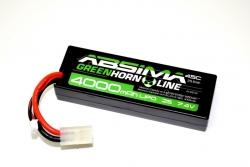 LiPo Stick Pack 7.4V-45C 4000 Hardcase (Tam) Absima 4140012