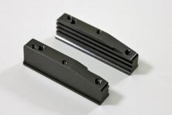 Aluminium Motorhalter l/r 1:8 Comp. Absima T08655