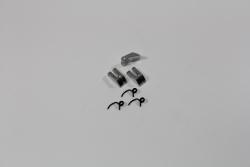 Aluminium Kupplungsbacken und Federn (3 St.) 1:8 Comp. Absima T08657