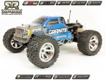 Arrma Granite Monster, blau / RTR Revell RC Pro AR102301