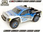 Arrma Fury Truggy, blau / RTR Revell RC Pro AR102411