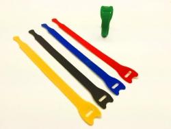 Klettgurt 13x200 mm 5 Stück farbig sortiert Robbe 59001008
