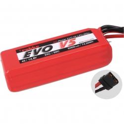 RO-POWER EVO V5 25(50)C 14,8 VOLT 4S 5000MAH LIPO AKKU Robbe 6547