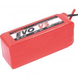 RO-POWER EVO V5 25(50)C 22,2 VOLT 6S 5000MAH LIPO AKKU Robbe 6548