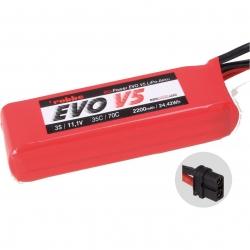RO-POWER EVO V5 35(70)C 11,1 VOLT 3S 2200MAH LIPO AKKU Robbe 6561