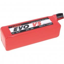 RO-POWER EVO V5 25(50)C 18,5 VOLT 5S 4000MAH LIPO AKKU Robbe 6575