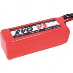 RO-POWER EVO V5 25(50)C 18,5 VOLT 5S 5000MAH LIPO AKKU Robbe 6576