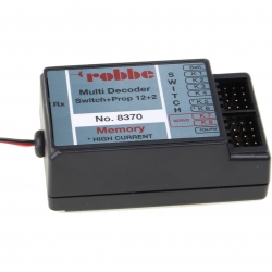 Multi-Switch-Prop 12+2 Decoder Memory Robbe 8370