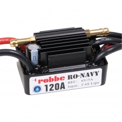 RO-CONTROL NAVY 6-120 2-6S -120A BEC Robbe 8723