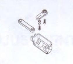 Servohalterung und -hebel Robbe BS810-062