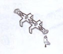 Akkuhalterung Robbe BS910-025
