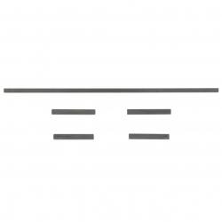 H?HENLEITWERKSSTECKUNG CFK MAMBA 10 UND BALDACHIN ROHRE (4STK.) Robbe FPM327006