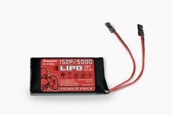 Senderakku LiPo 1S2P/5000 3,8 V TX 21Wh Graupner BT8083