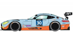 1:32 Mercedes AMG GT3 #30 Gulf HD Carson 3853 500003853