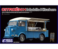 1:24 Citroen H mobile Kitchen Carson 25008 500025008