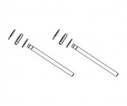 Dämpfer-Kolbenstangen-Set Carson 105177