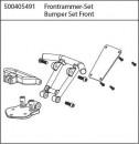X10ET-XL Rammer vorne Carson 405491 500405491