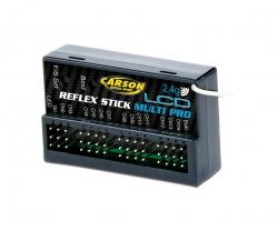 Empfäng. Reflex Stick Multi Pro LCD 2.4G Carson 501544 500501544