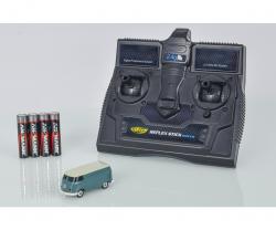 1:87 VW T1 Bus Kastenwagen 2.4G 100% RTR Carson 504118 500504118