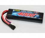 LiPo-RP-7.4V-4000mAh-25C-Round-T-Plug Carson 608145 500608145