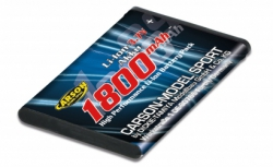 Li-Ion Akku Reflex Pro 3, 1800mAh, 3,7V Carson 608153 500608153