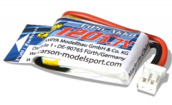 Micro Bike Battery 3,7V/120mAh LiPo-Akku Carson 608188 500608188