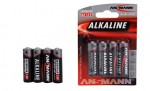 Batterien Ansmann Alkal. Mignon/AA 4 St. Carson 609010 500609010