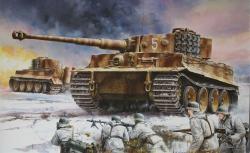 1:35 Sd.Kfz.181 Pz.Kpfw.VI Ausf.E TigerI Carson 776624 500776624