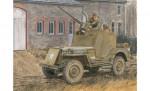 1:35 1/4 TON 4x4 Armored Truck w/.50-Cal Carson 776714 500776714