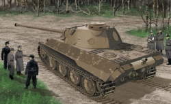 1:35 Panther Ausf.D V2 Versuchsserie Carson 776830 500776830